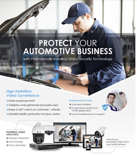 Automotive Center Security Solutions